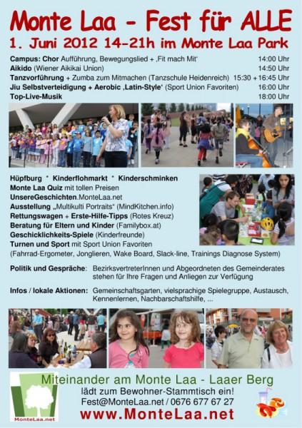 Monte Laa Nachbarschaftsfest 2012 - Flyer - Seite 2