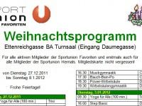 SportUnionFavoriten_Weihnachtsprogramm_2011