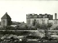 Anker vom Zuggleis gesehen, 70er-80er Jahre (Foto: Archiv Bezirksmuseum Favoriten)
