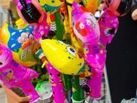 Luftbalons auf der Favoritenstraße